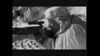 Soviet sniper combat footage WW2