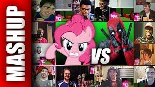 Download Video My Little Pony PINKIE PIE vs DEADPOOL Marvel DEATH BATTLE Reactions Mashup MP3 3GP MP4