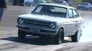 13BT Datsun 1200 Coupe running 11s