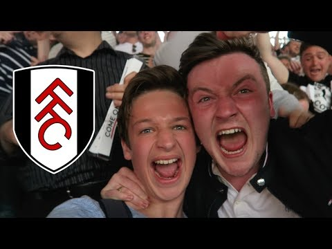 THE MOMENT FULHAM GOT PROMOTED TO THE PREMIER LEAGUE - Aston Villa vs Fulham *VLOG*