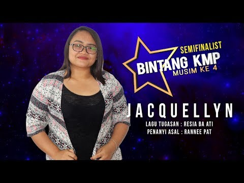 #BKMP4   Semifinalist   Jacquelyn - Resia Ba Ati