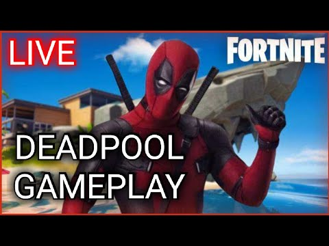 Fortnite DeadPools Skin GAMEPLAY (Fortnite Battle Royale)
