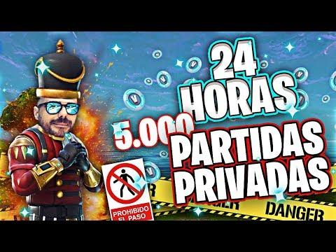 *DIRECTO FORTNITE*24H ESPECIAL 5K* PARTIDAS PRIVADAS*#TEAM_CROWS