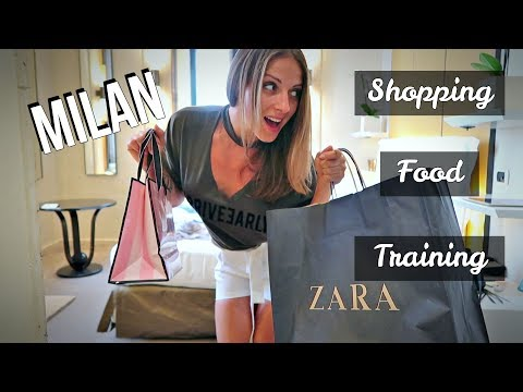 Une journée à Milan // Shopping & essayages // Food // Train