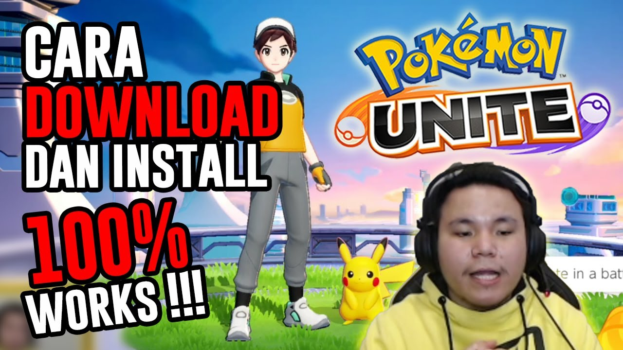 Cara Download Install Viral Moba Pokemon Unite Indonesia 100 Works Android Ios Coming Soon Youtube