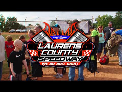 Laurens County Speedway 8 25 17