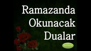 Ramazanda Okunacak Dualar
