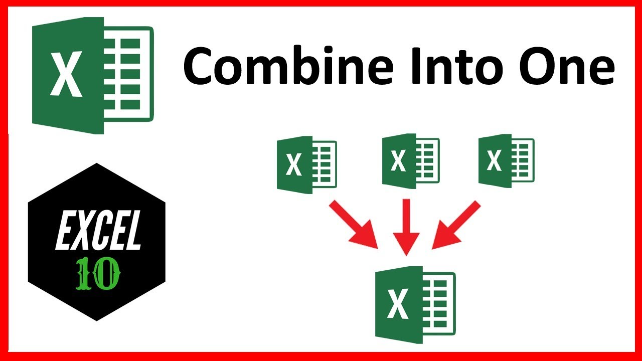 Workbooks merge excel sheets into one workbook : How To Combine Multiple Workbook to One Workbook In Excel - YouTube