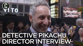 Detective Pikachu: Director Rob Letterman Interview