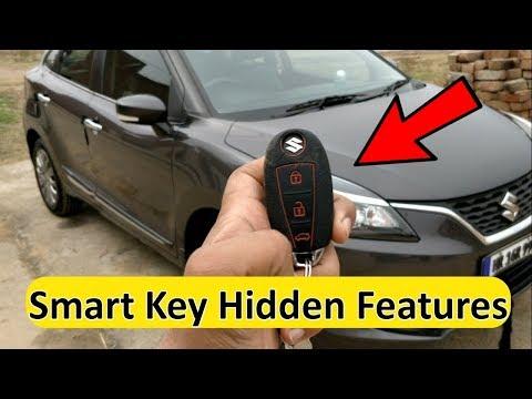 Baleno Smart Key Hidden Tricks || Maruti Key Fob Secret Features