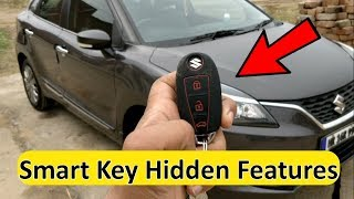 Baleno Smart Key Hidden Tricks || Maruti Key Fob Secret Features