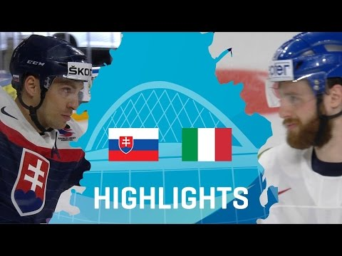 Slovakia - Italy | Highlights | #IIHFWorlds 2017 | May 6, 2017 | HD