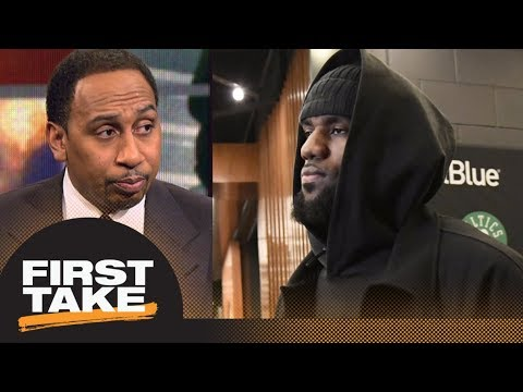 Stephen A. Smith is 'sick' of the LeBron James topics | First Take | ESPN