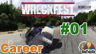 Next Car Game Wreckfest - Gameplay ITA - CARRIERA #01 - Racing Series
