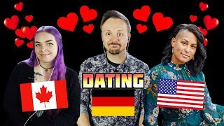 Dating German Men vs American Men vs Canadian Men | A Romance Analysis w/ Hayley Alexis and Dina