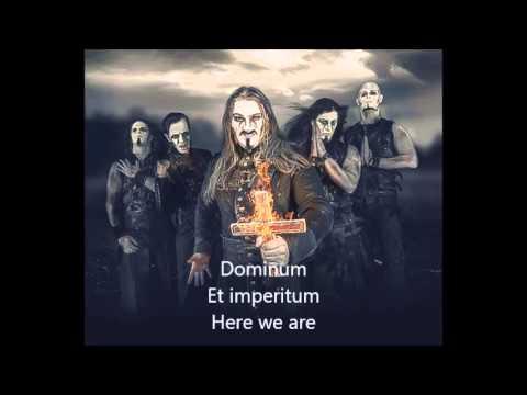 Powerwolf- Sanctus dominus (lyrics)