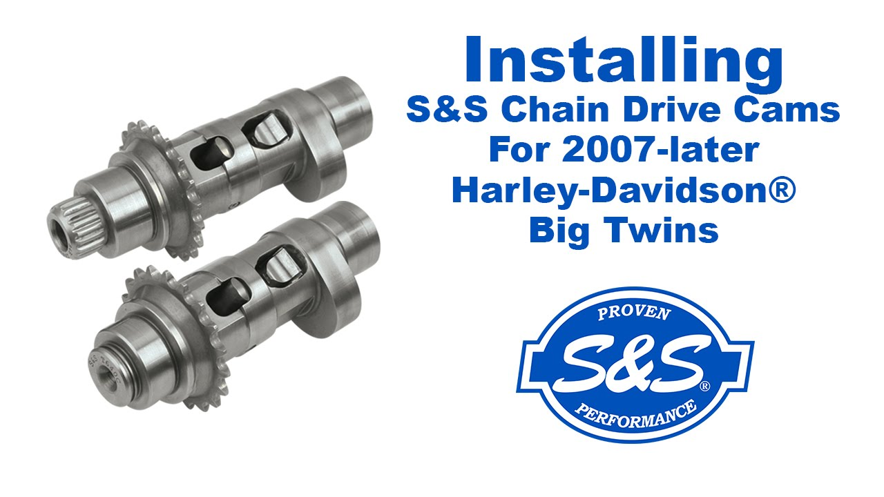 Installing S&S Chain Drive Cams For 2007 Later Harley Davidson Big