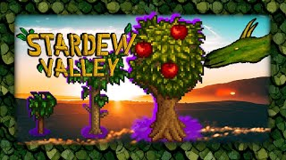 Will my apple tree grow in Stardew Valley? live stream #10