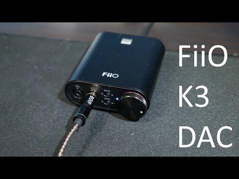 Fiio K3 Review (2019) Great Budget Dac! - YouTube
