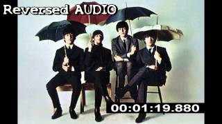 Repeat youtube video Reversed AUDIO The Beatles