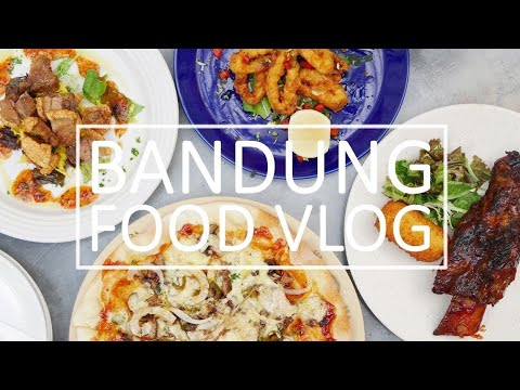 Bandung Food Vlog: Cafe Hopping To Street Food - Part 1