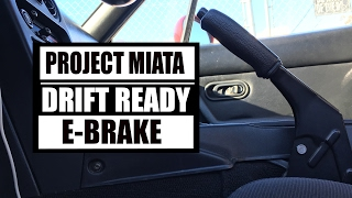 HOW TO ADJUST MIATA E-BRAKE FOR DRIFTING