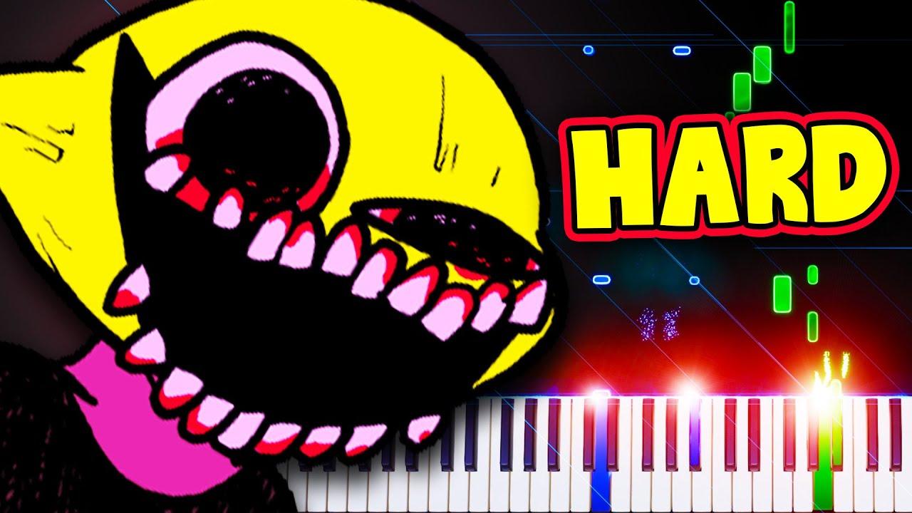 Monster (Lemon Demon) (from Friday Night Funkin') - Piano Tutorial