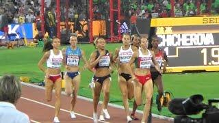 2015 Beijing Athletics W800m Final Maryna Arzamasava