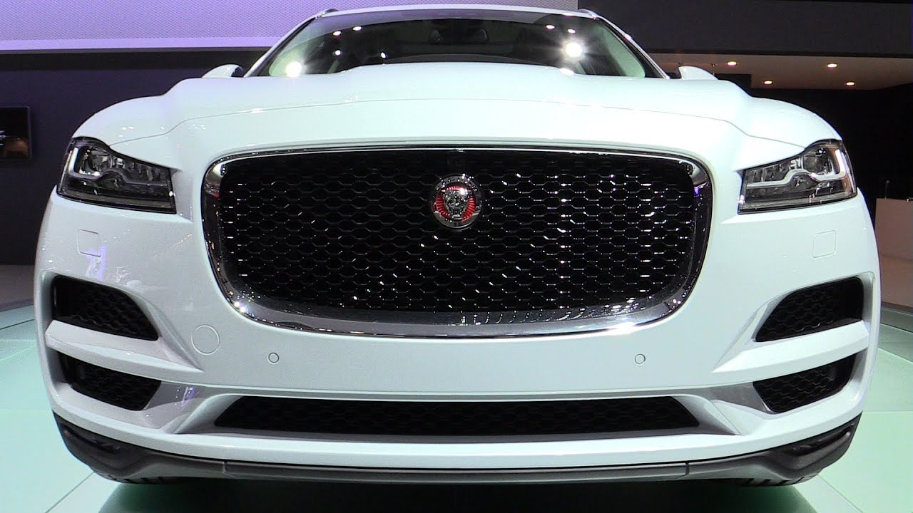 2016 jaguar f pace exterior and interior walkaround 2015 tokyo motor show youtube. Black Bedroom Furniture Sets. Home Design Ideas