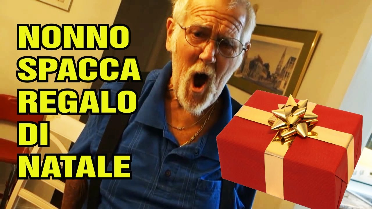 Nonno spacca regalo di natale youtube for Regalo di natale originale