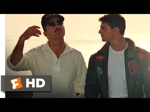 Top Gun (6/8) Movie CLIP - A Confidence Problem (1986) HD