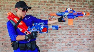 - Nerf Guns War S.W.A.T Girl Of SEAL TEAM Special Hunts Down Dangerous Crime Groups