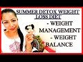 Summer Detox Diet Plan for Quick Weight Loss | How to Lose Weight Fast in Summer | Fat to Fab Suman