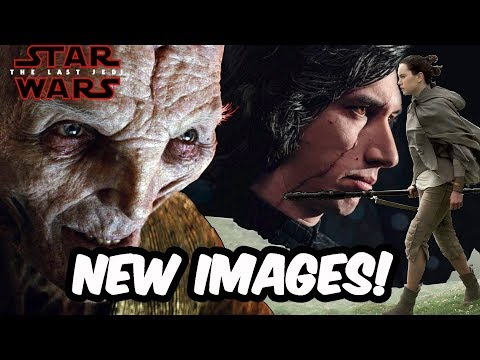 More New Images And Is Snoke CGI Or Practical Effects? - STAR WARS