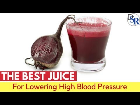 💓The Best Juice For Lowering High Blood Pressure & Hypertension - By Dr Sam Robbins