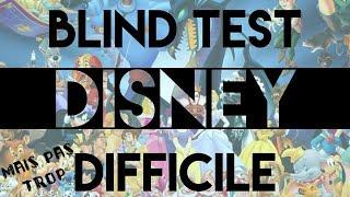 Blind test Disney (difficile mais pas trop) Chansons Classiques
