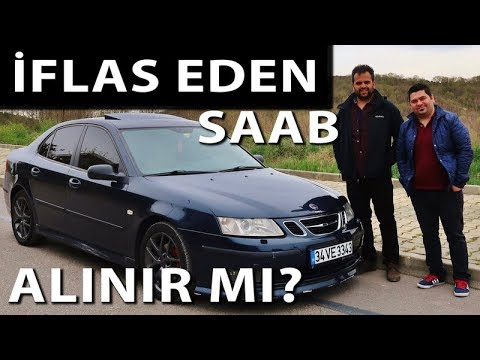 Saab 9-3 Testi   İflas Eden Saab Alınır mı?