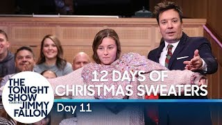 12 Days of Christmas Sweaters 2019: Day 11