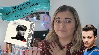 TWO OF US LOUIS TOMLINSON REACTION (CONTAINS UGLY CRYING) | Life With Laurel 🌿 Video