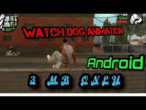 How To Download Watch Dog Animation And Parkour Mod In Gta San Android