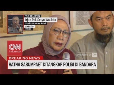 Breaking News! Ratna Sarumpaet Ditangkap di Bandara