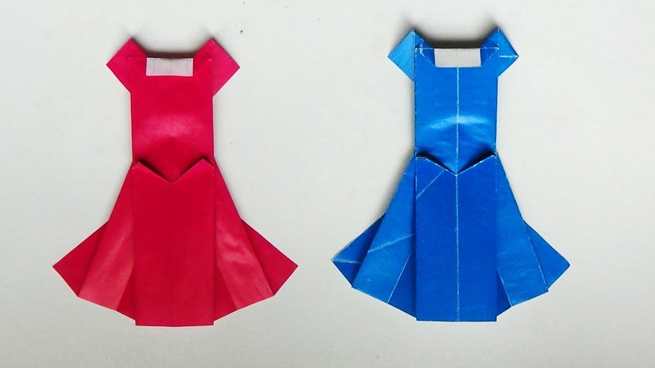 Hướng dẫn cách gấp váy dạ hội bằng giấy kỹ thuật gấp hình PA channel