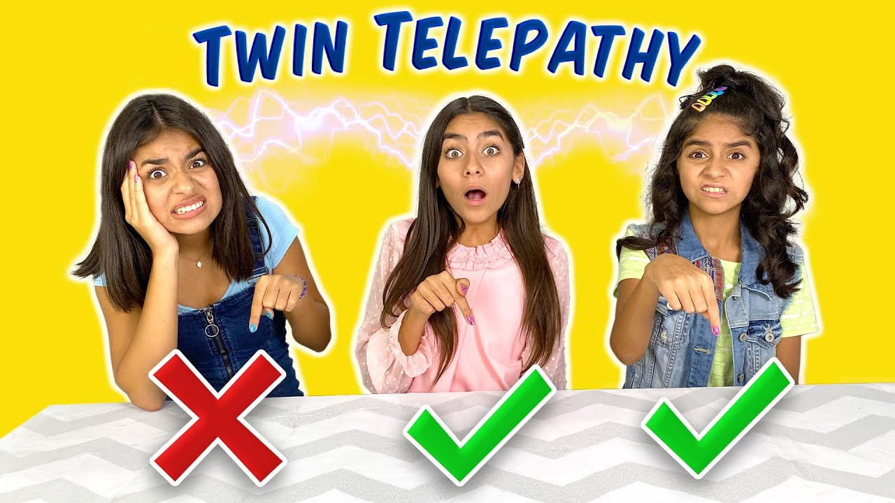 Twin Telepathy : Cool Maker Nail Salon Challenge | GEM Sisters