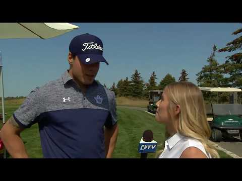 Maple Leafs and Legends Charity Golf Classic: Auston Matthews - September 11, 2017