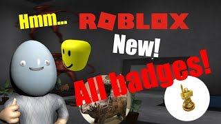 Roblox - Hmm... | All badges [New video is out]