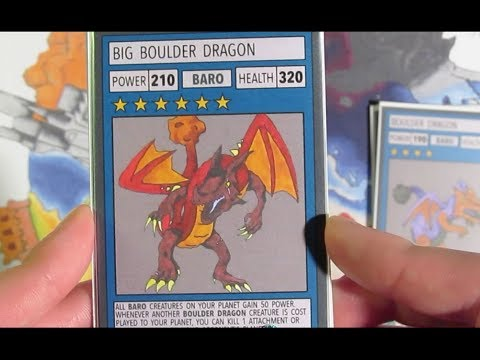 Archetype 101's: The Boulder Dragons (Chaos Galaxy TCG Starter Deck)
