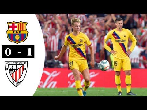 ATHLETIC BILBAO Vs BARCELONA 1-0 Highlights & ALl Goals ...