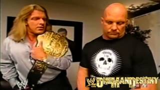 WWE Evolution Triple H And Stone Cold Segment