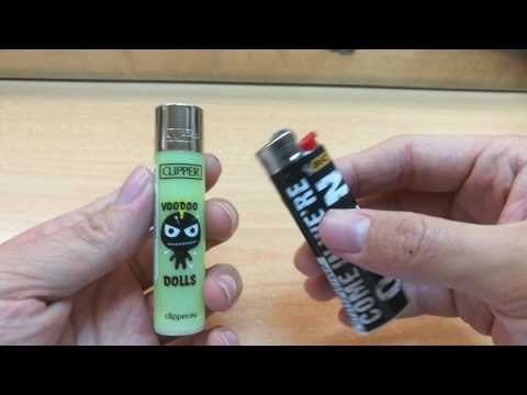 Clipper vs Bic vs Cricket lighter showdown