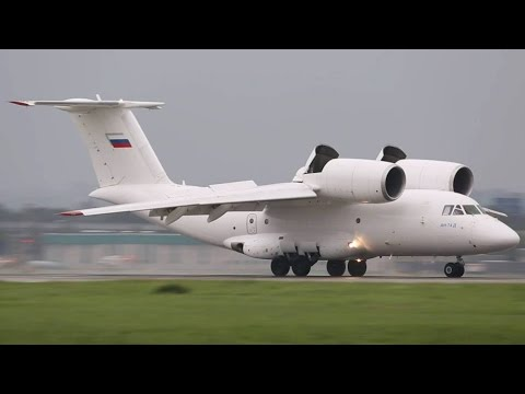 Antonov AN-74 RAIN Arrival - DUAL Perspective